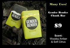 Gender Bender.   Activated charcoal powder, silt, and carbon absorb over 1,000 times their weight in nasty free radicals and pollution, giving your skin a deep detox. Plus it's versatile... not only can you use it in the shower but it also cleans hair dye off skin, sharpie off toddlers arms, spilled milk on your couch cushions, grease off your hubby's hand... seriously ANYTHING!