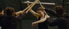 Daisy Ridley (Rey) and Adam Driver (Kylo Ren) tease lightsaber duels in a behind-the-scenes look at Star Wars: Episode VIII The Last Jedi. http://l7world.com/2017/07/daisy-ridley-rey-lightsaber-star-wars-last-jedi.html