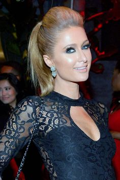 15 Ponytail Hairstyles We Love - Celebs Wearing Ponytails on the Red Carpet - Elle