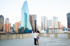 Tanikqua Leon S Engagement Session In Downtown Dallas Dallas Engagement Photos Urban Engagement Photos Downtown Dallas