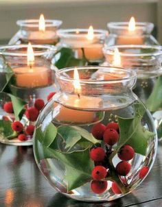Christmas Candle Sets As Gifts for Holidays.