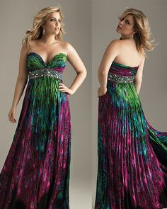 Plus size animal print prom dresses hide all figure cons