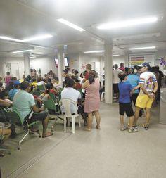 Saúde na UTI: UPAs atendem 113 nos corredores