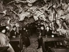 Hell's Cafe Paris 1890's