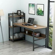 Computer Desk w/ Storage Shelves for Home & Office⠀ - ⚡️⚡️ . Computer Desk w/ Storage Shelves for Home & Office⠀ If you're looking for a with plenty of storage? This Tribesigns L-SHAPED DESK with HUTCH will be your best choice! Home Office Setup, Home Office Desks, Office Workspace, Home Office Table, Office Ideas, Desk In Living Room, Furniture Design, Bed Furniture, Cheap Furniture