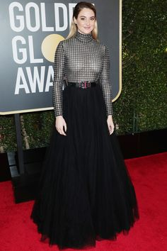 All the Glamorous 2018 Golden Globes Red Carpet Arrivals - Shailene Woodley from InStyle.com