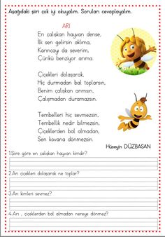 This Pin was discovered by Fat Learn Turkish, Pre School, Preschool Activities, Karma, Worksheets, Education, Math, Learning, Books