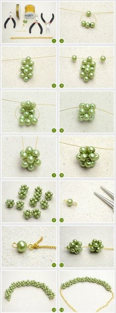 Chaîne de boules en perles | J'adore Jewelry