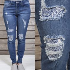 What more fitting  jeans could we carry than those  distressed with super  cute   8b9e077dcdb8