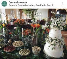 Inspiração decoração chão de mesa Fernando Reame