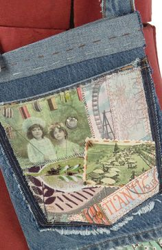 Denim Redesign – IJ1068  sewing pattern book from IndygoJunction.com making projects from recycled denim jeans