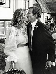 Wedding of Cheryl Tiegs and Peter Beard, 1980