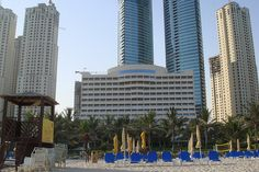 View of Dubai from the beach by AlBargan, via Flickr