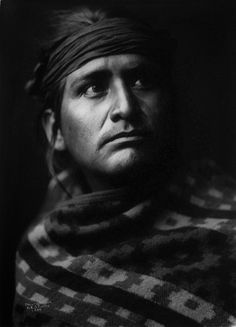 Navajo chief, ca. 1904 by Edward S. Curtis