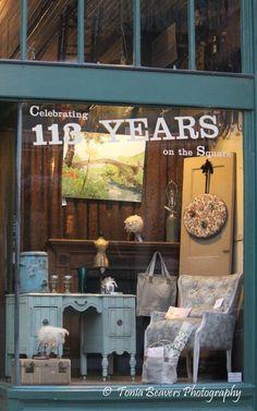 Old Store Front Window - Taken in Downtown Huntsville, AL - June 2012