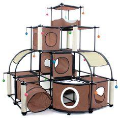 Kitty City Big Structure --- dream ferret room