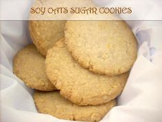 Soy-Oats Sugar Cookies for Christmas