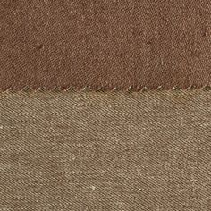 ANICHINI Fabrics | Janus Chestnut 13 Residential Fabric - a brown double faced linen fabric