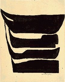 louise bourgeois, untitled, ink on paper