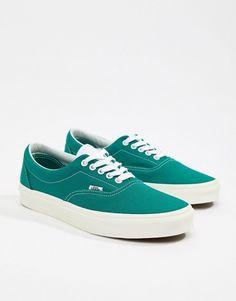 c229c24a34c6 Vans Era Sneakers In Green VA38FRU8L
