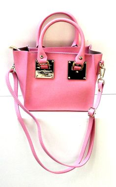 "For all those pink lovers , a beutiful small bag from ""El dragonfly Barcelona"""