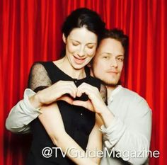 TV Guide Outlander Photo Booth