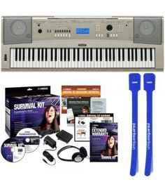 The YPG-235 carries Yamaha's Portable Grand legacy with it's expanded features, upgraded action, and easy-to-move form. You get 76 piano-style keys with Graded Soft Touch action, a wide selection of Yamaha voices to play, and a 6-track song recorder. Dedicated portable grand button lets you instantly jump back to the grand piano voice during play. Add additional songs and play along using the built-in USB/MIDI port. YPG-235 If you're looking for a reasonably priced piano replacement, look…