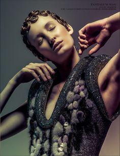 """Sylvio Giardina _ TANTALUM Magazine _ """"Face of Angels""""  Photography Michel Bonini Styling by Marie Revelut"""