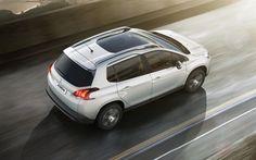 Scarica sfondi 4k, Peugeot 2008, crossover, 2018 automobili, nuovo 2008, strada, le auto francesi, Peugeot