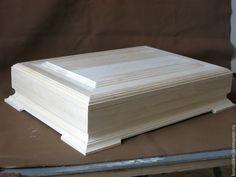 """Купить Заготовка """"Шкатулка под документы формат А4"""" - белый, заготовки из дерева, заготовки для декупажа"""