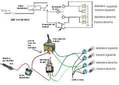 Solucionado: instalacion electrica de auto simple y lo principal ayuda - YoReparo Electric Radiator Fan, Chevy Blazer K5, Offroad Accessories, Fiat 126, Electronics Basics, Car Fix, Electrical Wiring Diagram, Automobile, Camper Life