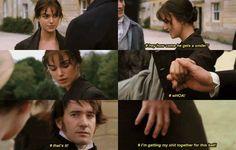 Darcy's inner struggles - LOVE THESE!