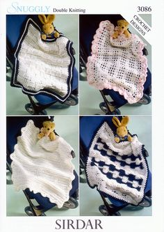 Blankets in Sirdar Snuggly DK (3086)