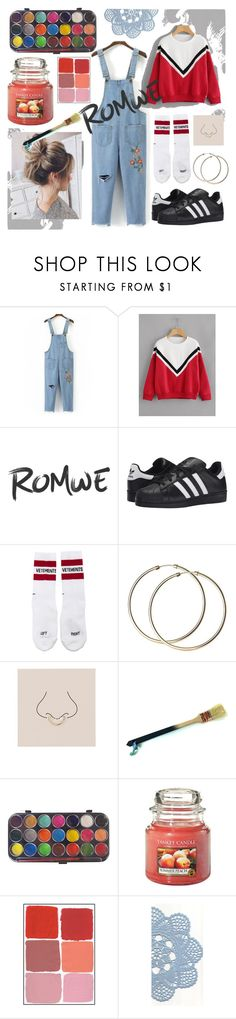 """""""2017-09-12"""" by coconuts-perfume ❤ liked on Polyvore featuring WithChic, adidas Originals, Vetements, Miss Selfridge and Yankee Candle"""