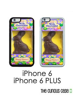 iPhone 6S 6 or PLUS Chocolate Easter Bunny by CuriousCaseGifts