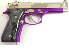 Guns and purple = <3 Would love to add a touch of purple to one of my guns.
