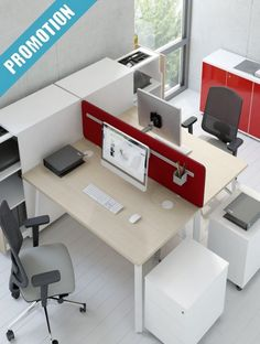 A General Guide To Buying Office Furniture For The Home Office Corporate Office Design, Office Interior Design, Office Interiors, Open Space Office, Bureau Open Space, Office Setup, Office Decor, Home Office, Cubicle Partitions