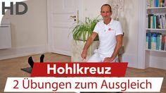 Übungen bei Hohlkreuz / Faszien Übungen / Rückenübungen / Übungen Rücken...