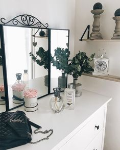 Vanity, Mirror, House, Furniture, Home Decor, Ideas, Home, Dressing Tables, Powder Room