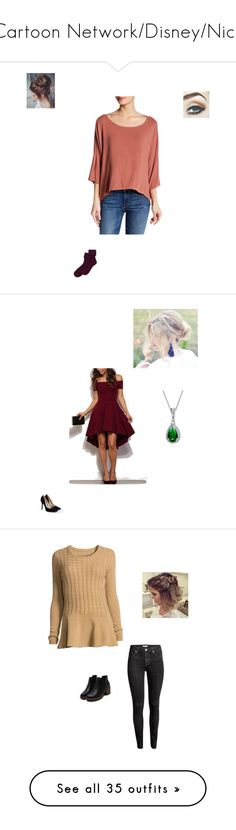 """""""Cartoon Network/Disney/Nick"""" by maryvarleyrox on Polyvore featuring Michael Stars, Hue, Bling Jewelry, JustFab, Neiman Marcus, H&M, Avon, WearAll, LE3NO and Monsoon"""