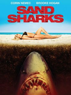 Brooke Hogan continues her never-ending war with sharks in the upcoming Sand Sharks!
