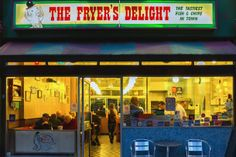 The Fryer's Delight - Fish and Chips 19 Theobald's Road London WC1X 8SL