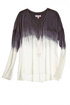Popover Dip Dye Shirt