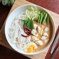 ขนมจีน น้ำยาปู สูตรเด็ดทำง่ายขายดี   ทำมาหากิน อาชีพแก้จน