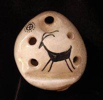 Petroglyph Antelope 6 Hole Ocarina - SE Ocarinas