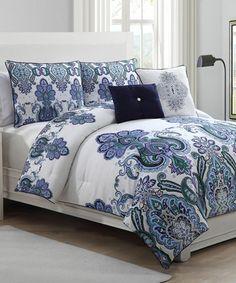 Look at this #zulilyfind! Lavender Melisenta Reversible Quilt Set by Geneva Home Fashions #zulilyfinds