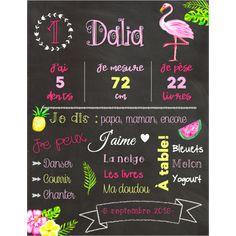 Affiches d'anniversaires de bébé Chalkboard Quotes, Art Quotes, Birthday Posters, Birthdays, Bebe