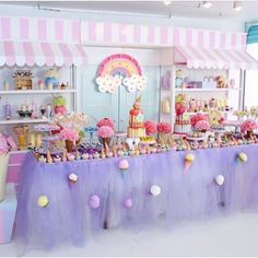 3rd Birthday Party For Girls, Candy Theme Birthday Party, Donut Birthday Parties, Donut Party, Candy Party, Birthday Decorations, Ice Cream Theme, Ice Cream Party, Sweet Party