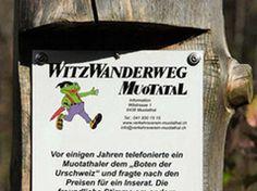 Witzwanderweg - Lucerne