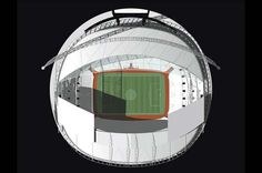See the award winning Wembley Stadium, reinvented by Foster and Partners architects. The stadium is designed to be ideal for football. Foster Partners, Wembley Stadium, Top View, The Fosters, Football, Abstract Shapes, Bud, Architects, Travel
